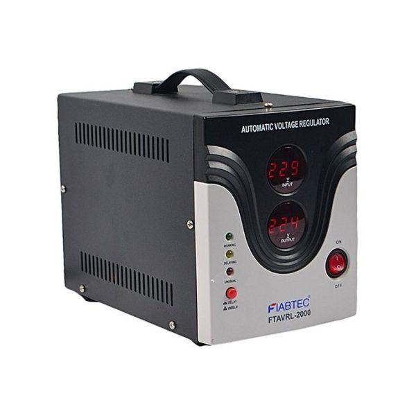 FIABTEC-2000VA Régulateur de tension-FTAVRL- Neuf 1 an de garantie