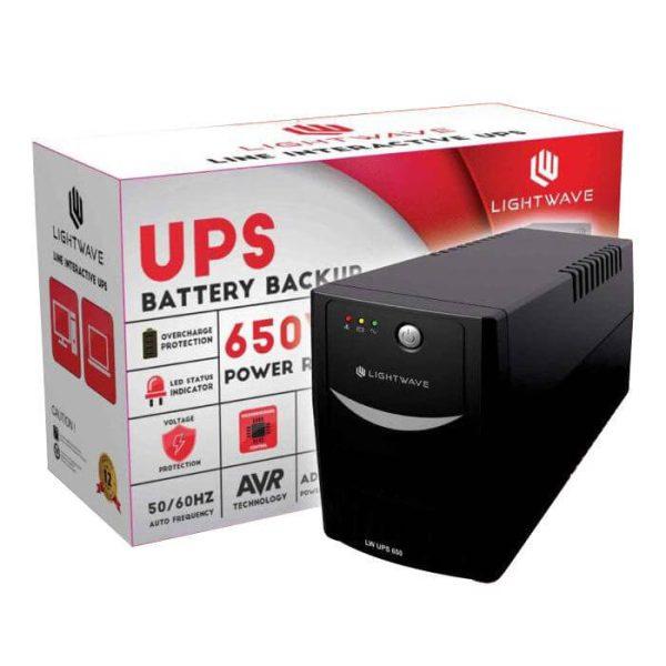 Onduleur 650Va Lite wave - Ups650-Neuf 6 mois de garantie