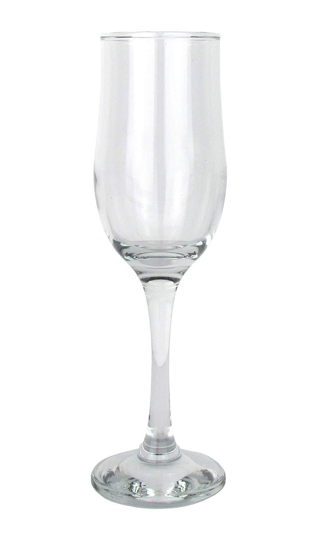 LAV NEVAKAR– Lot de 6 Flutes à Champagne de 190 ml -Neuf