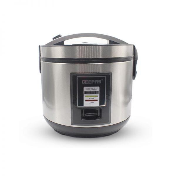 GEEPAS 2L - Cuiseur de riz en acier inoxydable - GRC4330 - Neuf 12 Mois de garantie