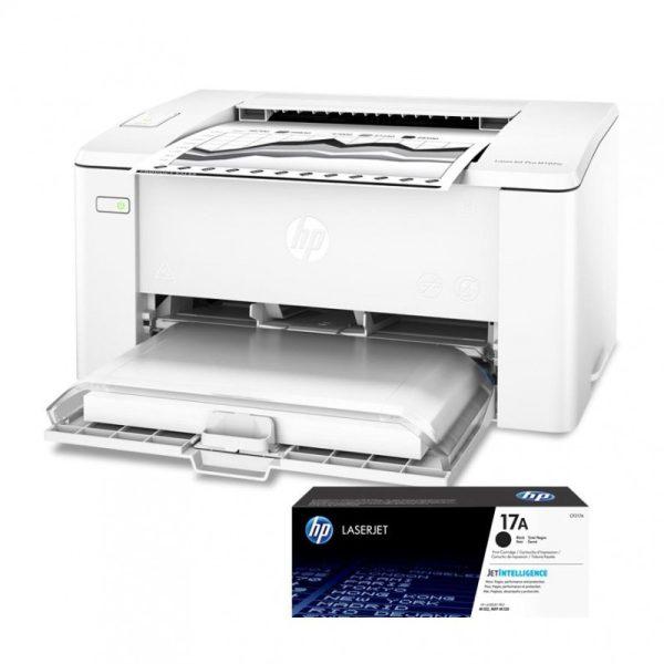 HP Imprimante Lasert Pro M102A - 3 Mois de Garantie