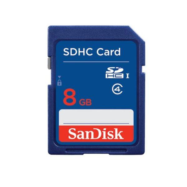 SANDISK 8Go Carte Mémoire SDHC– SDSDB-008G-B35 - 3 mois Garantie