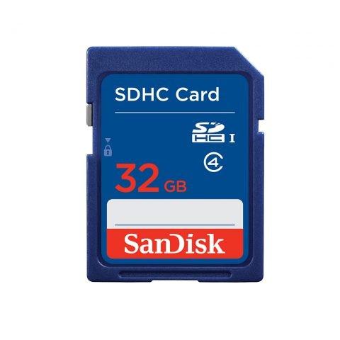 SANDISK 32Go Carte Mémoire SDHC– SDSDB-032G-B35 - 3 mois Garantie
