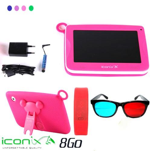 ICONIX Tab Kids - Ram 512Mo - Rom 8Go 7″- 12Mois Garantie