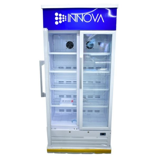 INNOVA 700L - Réfrigérateur Vitré 2 Porte - 12Mois de garantie