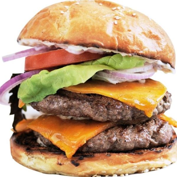 Captain Burger CAP01 - Double Cheese Burger-1 jus de 33cl Offert