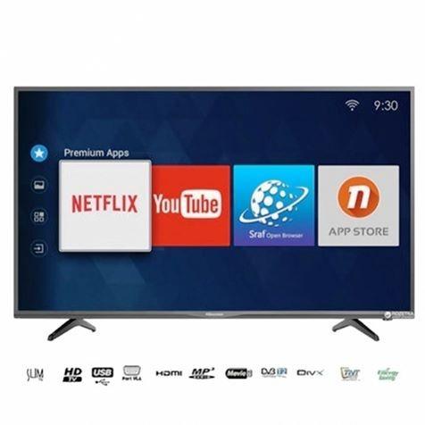 "HISENSE 43""- TV Led UHD Smart Anddroid 43N2170 - 2xUSB -3xHDMI -12 Mois Garantie"
