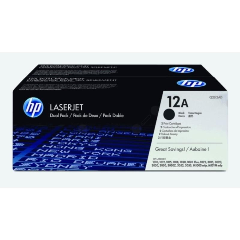 HP Cartouche De Toner LaserJet 12A- Compatible - Noir