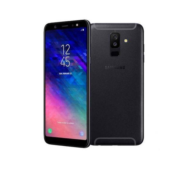 Samsung Galaxy A6 – (Dual SIM, 64GB / 4GB RAM, 16MP / 16MP, 3000mah) – Noir -12Mois de garantie