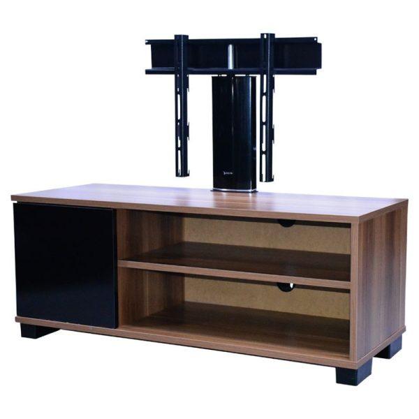 DELTA 110cm Meuble télévision -2 compartiments -12 Mois Garantie