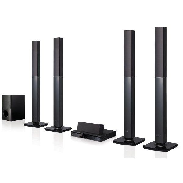 LG 1000W- Home Cinema Bluetooth- Surround System 5.1CH -LHD655BT - 12Mois Garantie