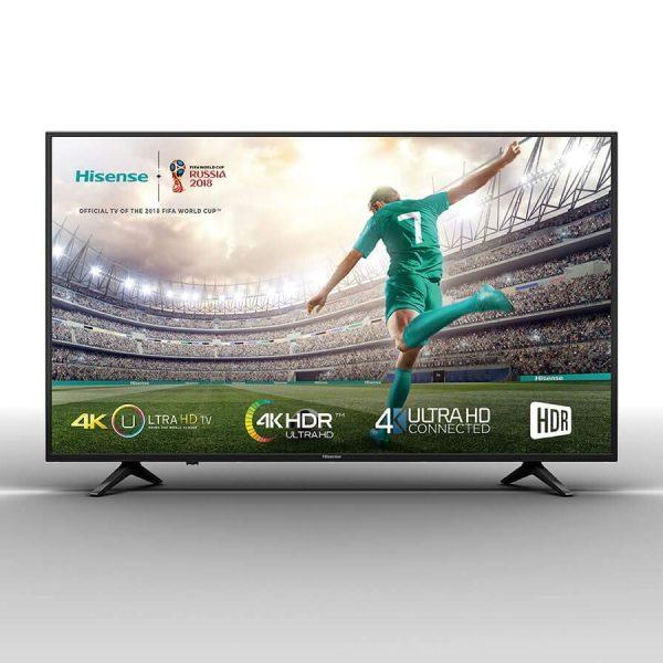 Hisense 55Pouces - Smart led Tv UHD 55A6103 4K - 2XUSB -3XHDMI- Couleur Noir ou Argent 12 mois Garantie