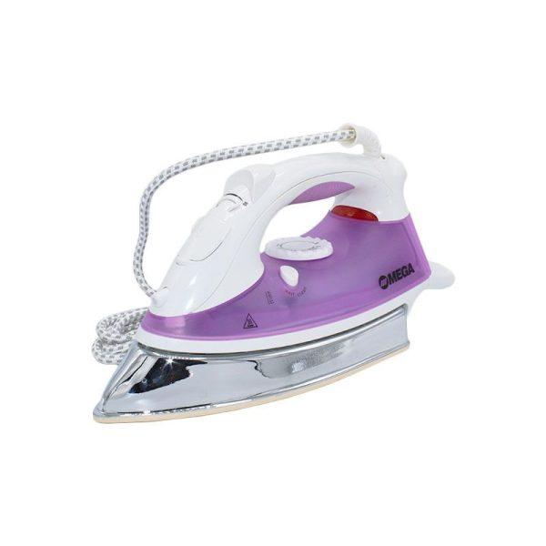 Fer à repasser- Vapeur - Omega MSI-241- 2200W- Voilet Blanc- 1 an Garantie
