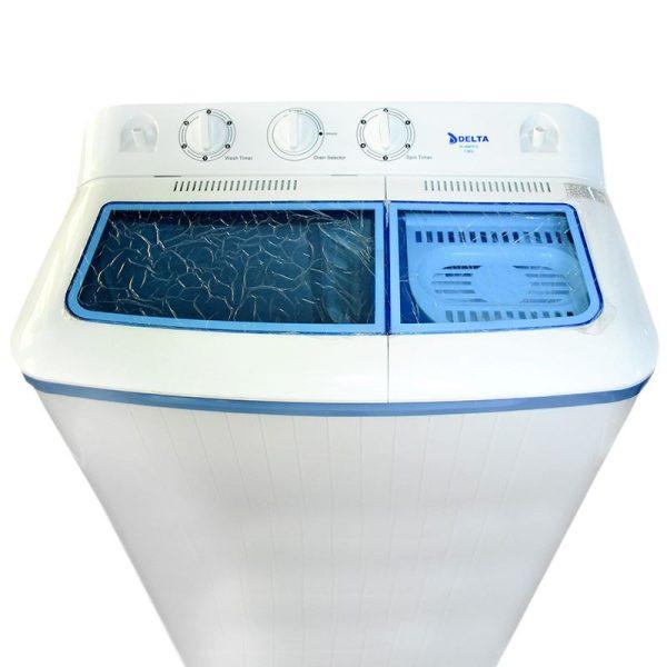 DELTA DL-WM7512 - 7.5Kg -Lave Linge - Semi Automatique - Eco-Energie -Blanc - 1 an Garantie