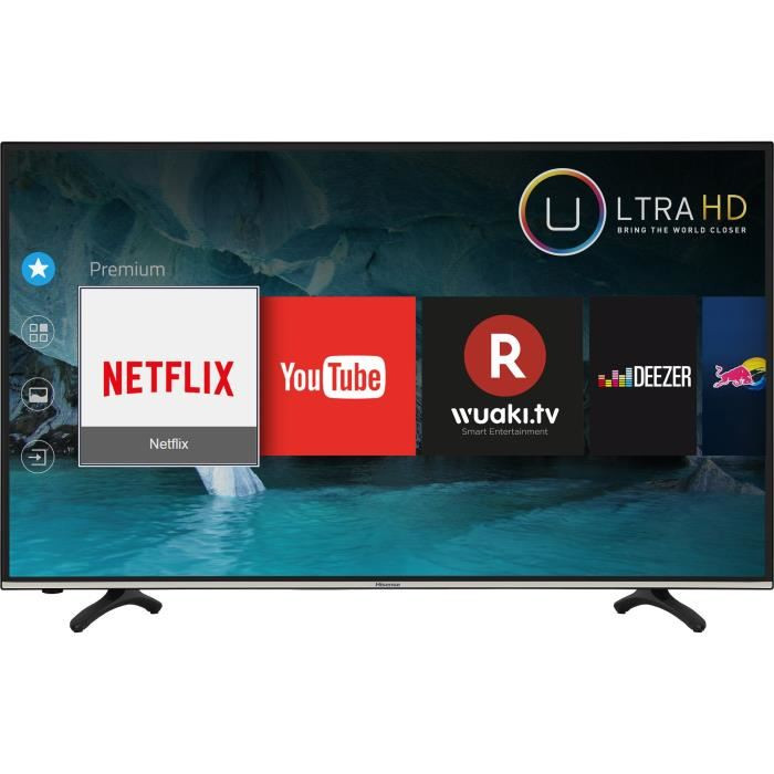 """HISENSE 49"""" Smart Led Tv 49N2182PW -Numérique FHD - Noir- 1An Garantie"""