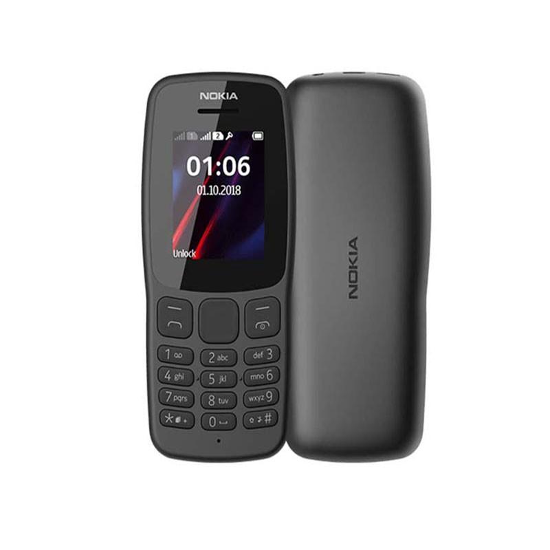 NOKIA 106 GSM - Double Sim - Version 2018 - Ecran couleur - 6 Mois Garantie
