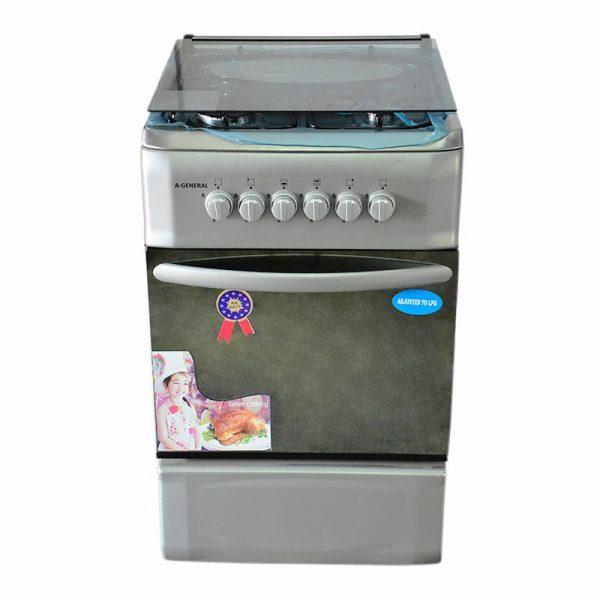 A-GENERAL Cuisinière- 4 Foyers -Dimensions 50x60cm - 100% Inox - 12mois de garantie