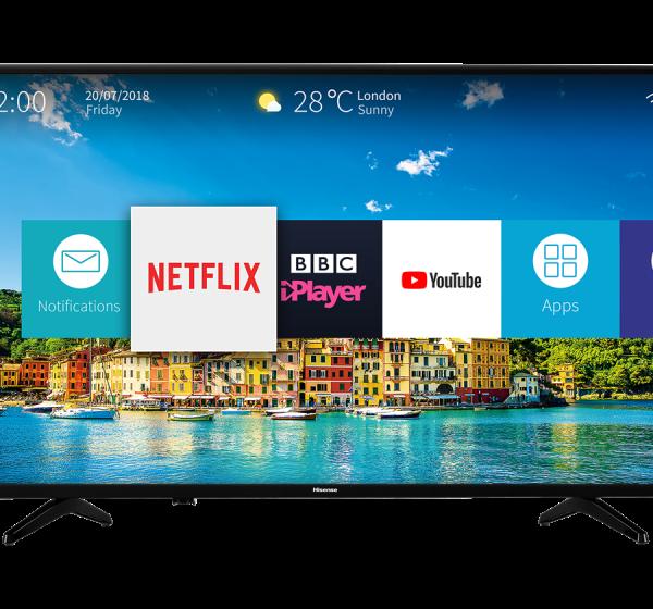 """HISENSE 32"""" - Smart Led Tv 32B6200HW - FHD Numérique - Noir- 12 Mois Garantie"""