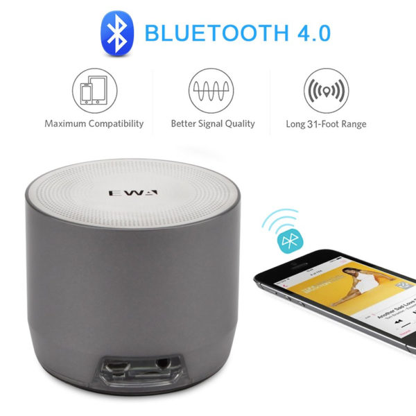 EWA A3 haut-parleurs Bluetooth portable - Puissance 8W -basses lourdes - 6Mois garantie