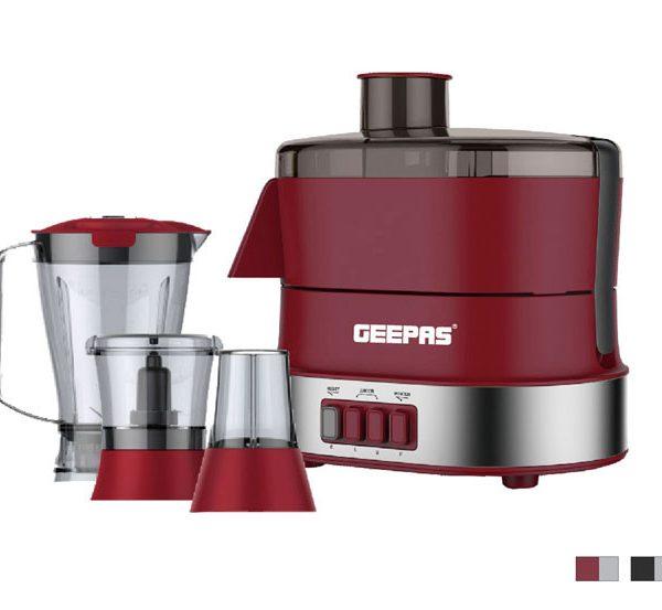 GEEPAS 800W -Robot Multifonctions GS9990 - 4in1- Mixeur -Centrigugeuse - 1 an Garantie
