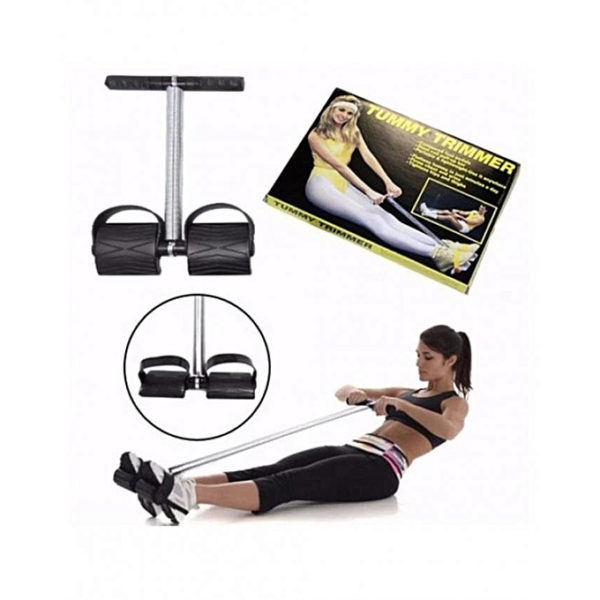 TUMMY TRIMMER - Dispositif pour Ventre Plat -couleur Noir ou bleue