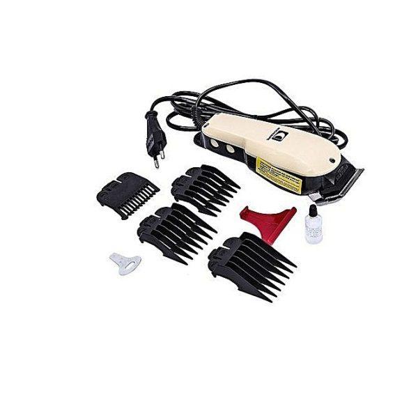 Chaoba - Tondeuse à Cheveux CB-808 - 220 V / 50 HZ - Blanc- 3 Mois Garantie