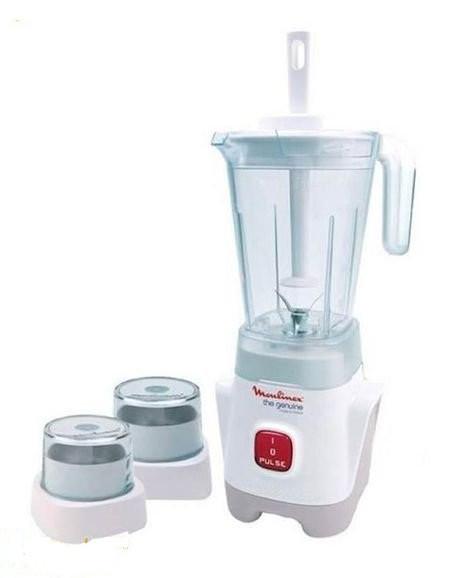 Moulinex Mixeur Geniune – LM 242025 – Blender – 3Bols – 400W – 1.25L- 12 Mois Garantie