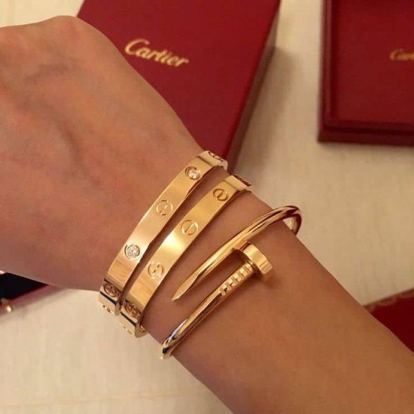 CARTIER -Trinity 3 Bracelets Love