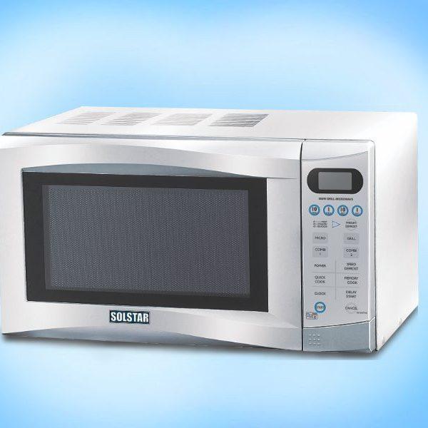 SOLSTAR Four à micro-ondes - Capacité 25L - MWO D25-GSLV SS - Neuf 1 an Garantie