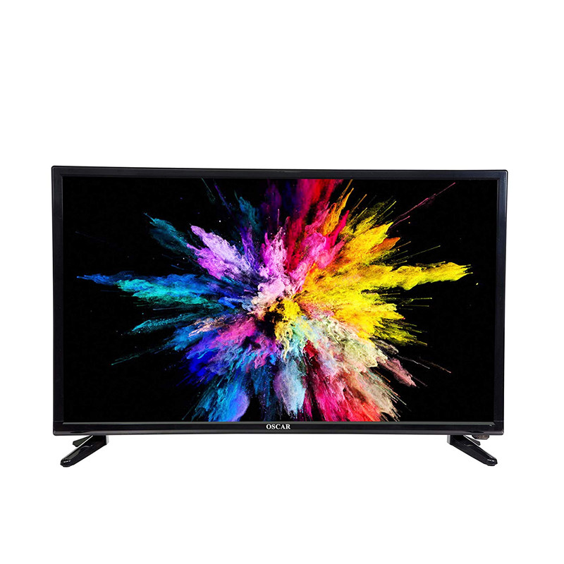 """OSCAR 32"""" LED TV HD – OSC-32D17S2- Régulateur de tension & Décodeur intégré 12 mois de garantie"""