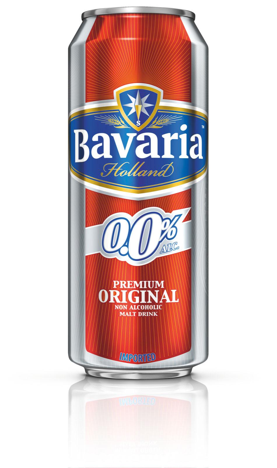 BAVARIA 0% Alcool - 50cl - 24 Canettes - Saveur Originale