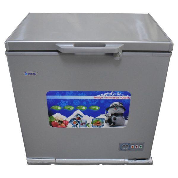 DELTA 275L - Congelateur Coffre DCF275SLV - 12 Mois Garantie