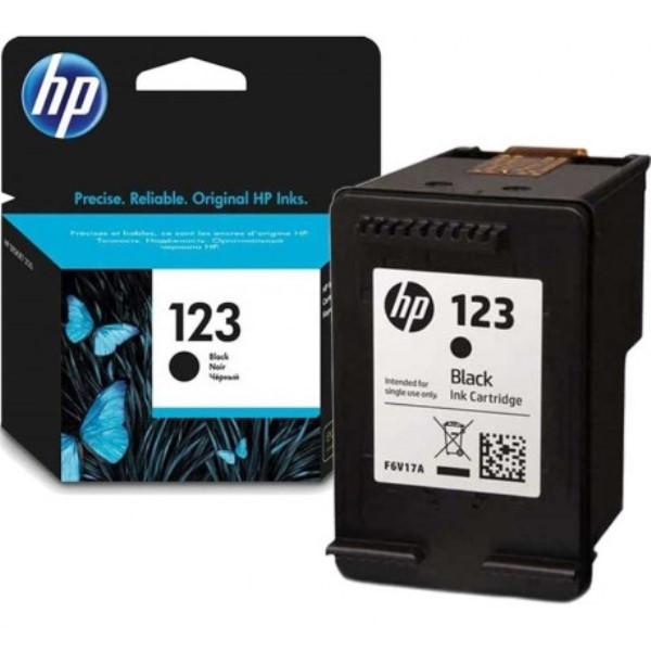 HP 123 cartouche d'encre authentique, noir - Etat Neuf - 6 Mois Garantie