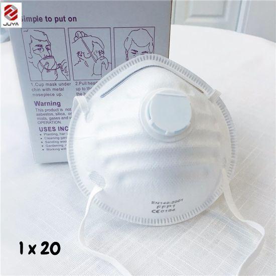 Masque FFP1 - Avec Valve - Usage Pharmaceutique - Industielle -jetable - antipoussière - Neuf