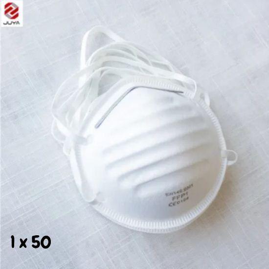 Masque FFP1 - sans Valve - Usage Pharmaceutique - Industielle -jetable - antipoussière - Neuf