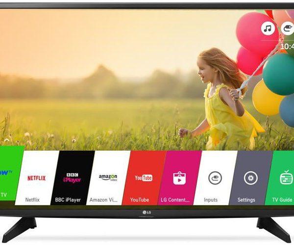 """LG 49UJ550V 49"""" Smart Led Tv FHD - couleur Noir - Neuf - 12 Mois Garantie"""