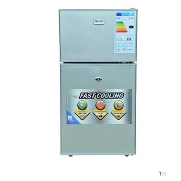 OSCAR -90L-Réfrigérateur OSC-R85S- Double porte - Neuf 1 an Garantie