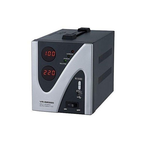 LEADDER 500Va -Régulateur de tension- Stabilisateur De Protection - TV HOME MAISON - Noir - Neuf 1 an de garantie