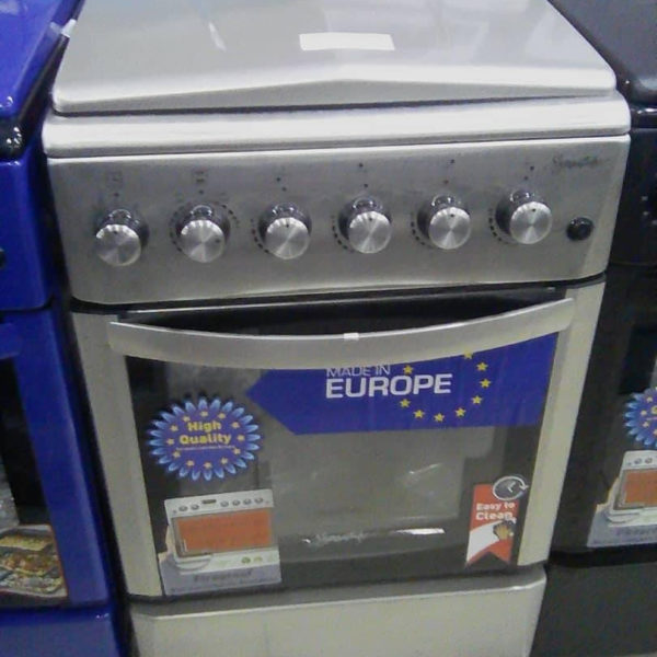 SIGNATURE - Cuisinière à Gaz Allumage- 4 foyers - 60cmX50cm- Neuf 1 An Garantie
