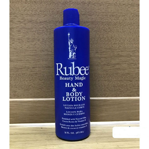 BEAUTY MAGIC - Rubee Lotion Hydratante Corps et Main- Capacité 473 Ml