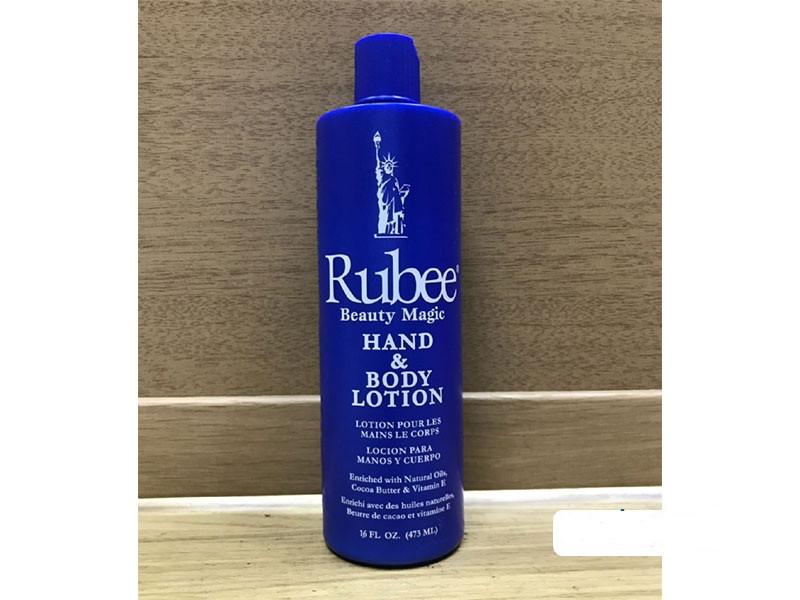 BEAUTY MAGIC - Rubee Lotion Hydratante Corps et Main- Capacité 473 Ml