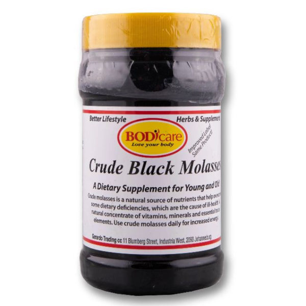 BODICARE 500g Crude Black Molasses - Complexe Vitaminés - Antianémique