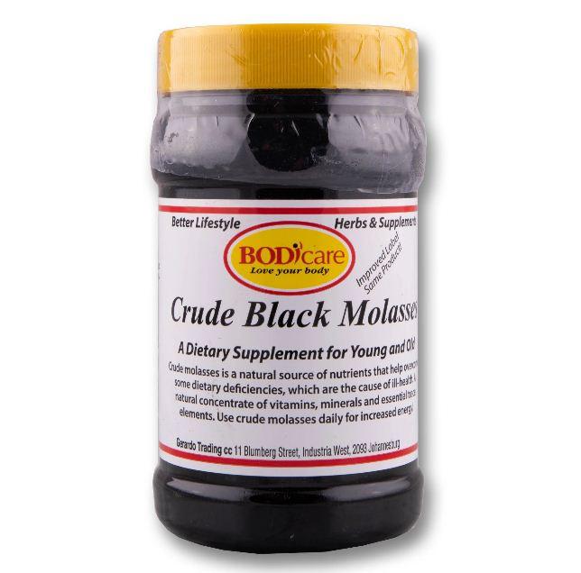 BODICARE 500g Crude Black Molasses - Complexe Vitaminés - Antianémique