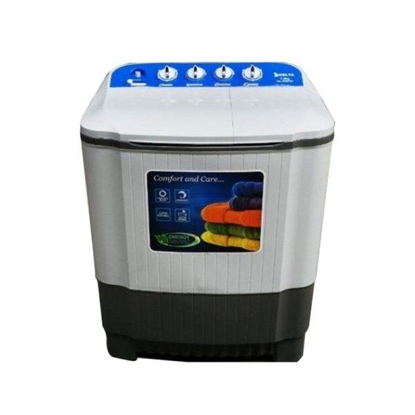 DELTA DL-WM1001 - 10Kg -Lave Linge - Semi Automatique - Eco-Energie -Blanc - 1 an Garantie