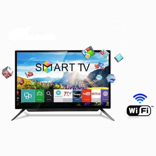 "LIFEWAY - 32"" -Smart Led TV - Android -Numérique DVBT2 - Wifi - 2xUSB-2xHDMI -Neuf 6Mois Garantie"