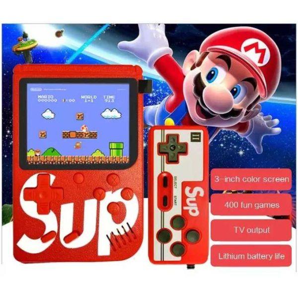 SUP Game Boy 400 Jeux Inclus - Rechargeable - Neuf 3 Mois Garantie