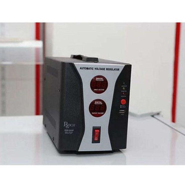 ROCH 500Va -Régulateur de tension- Stabilisateur De Protection - TV HOME MAISON - Noir - Neuf 1 an de garantie