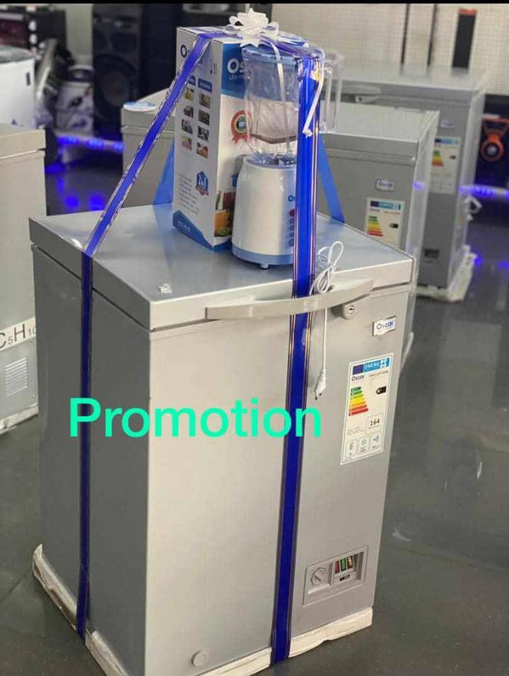 OSCAR - Promotion Congelateur 100L + Mixeur 2bols - Neuf 1an Garantie