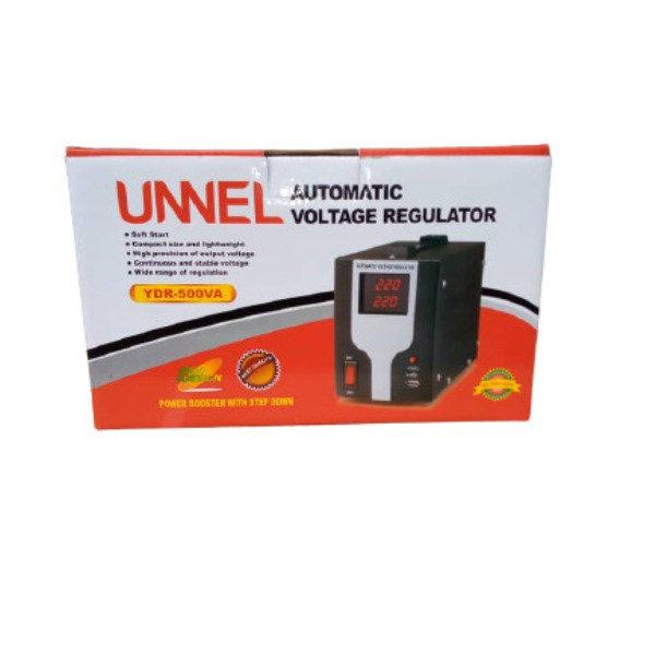 UNNEL - 500Va - Regulateur De Tension - Stabilisateur YDR500 - Etat Neuf 1An Garantie