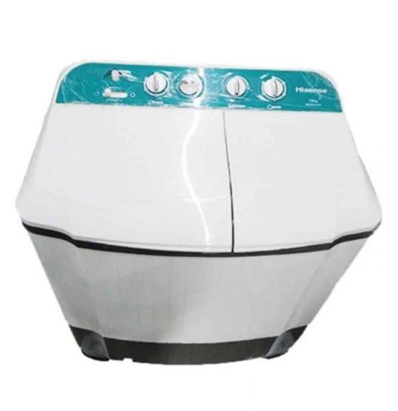 HISENSE - Capacité 7.5Kg - Machine à Laver - Sémi Automatique - Neuf 1 an Garantie